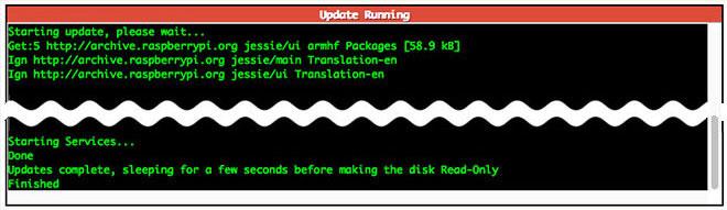 Pi-Star updating process
