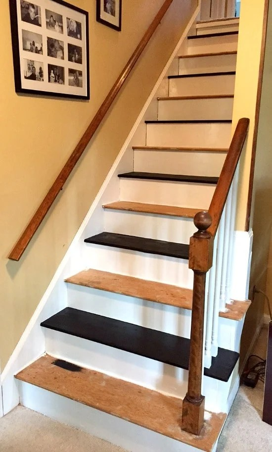Image Result For Remodeling Stairs From Carpet To Wood