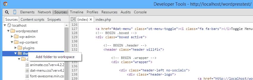 Chrome, persistent authoring in devtools.