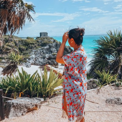 A day at the Tulum Ruins of Mexico