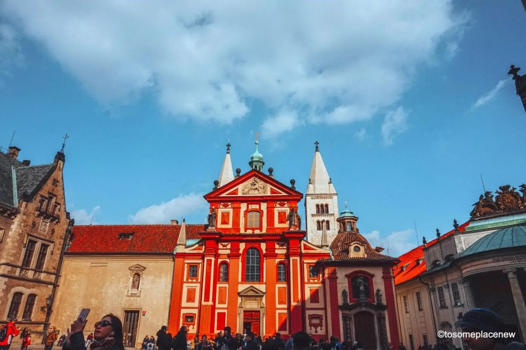 St George Basilica - the oldest basilica located in the Prague Castle District