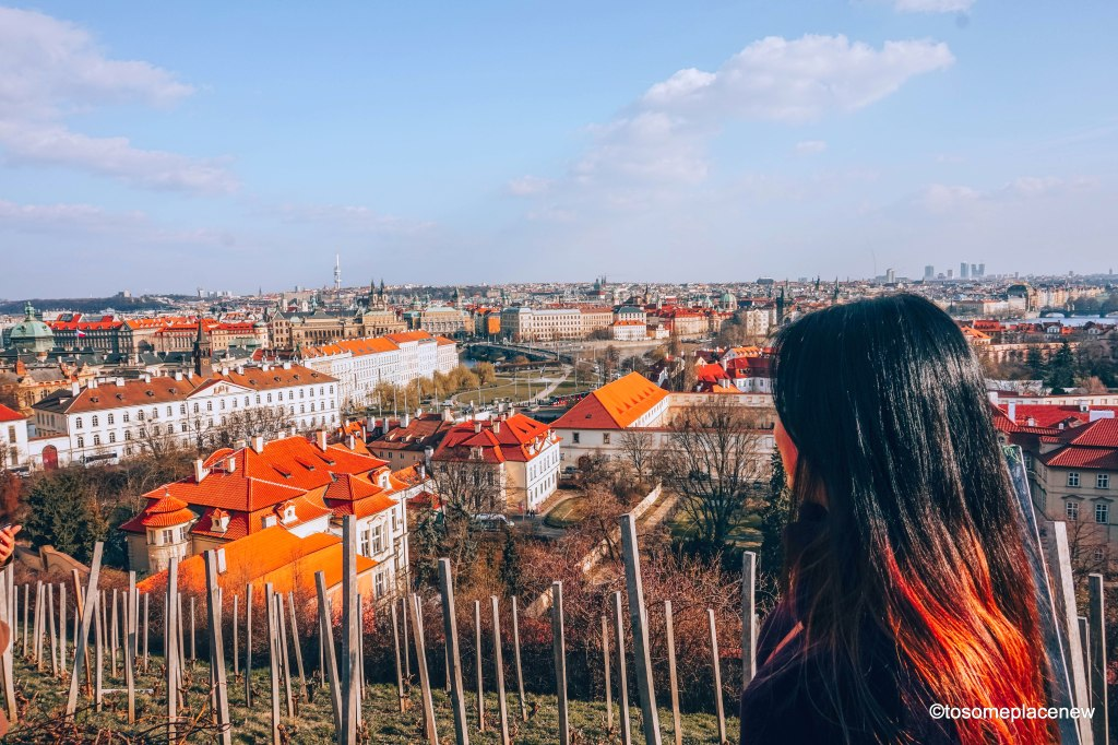 Views from the Prague castle are amazing. Prague Castle has a spot in the Guinness book of world records - oldest castle in Europe #guinnessbookofrecords