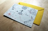 wedding cards with tailor made illustrations by tostoini