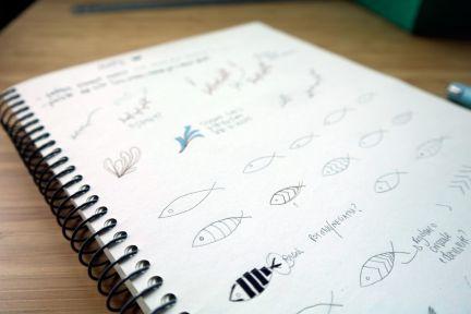 Sketch elements for pattern design