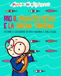 Perepepé Rio il Ragazzo Pesce e la Sirena Tirrena spettacolo musicale per la residenza d'artista L'Elba Del Vicino - illustrazione di tostoini