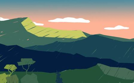 Sacro Monte Kids background illustration by tostoini