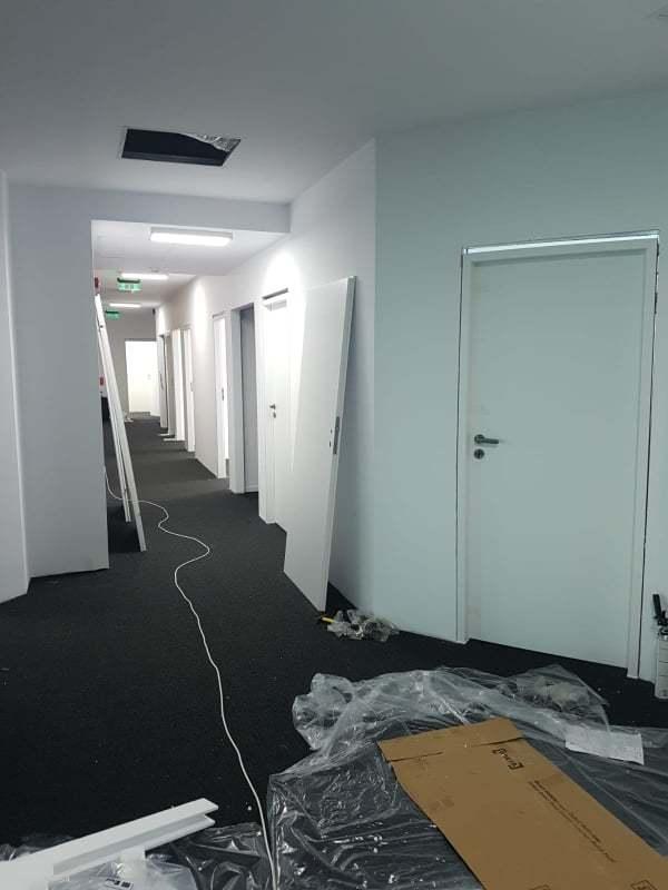 Renovarea apartamentului si montajul usilor de interior 2020