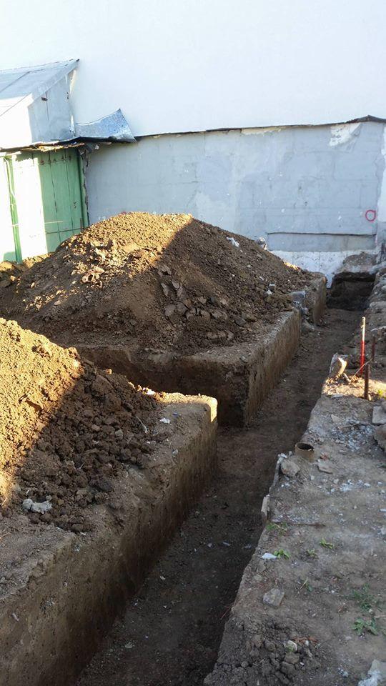 Sapaturi Fundatie Meseriasi Constructori 1 - Saparea fundatiei- Galerie foto