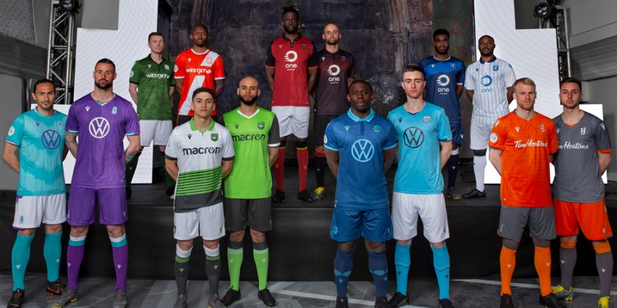 Canadian Premier League Reveals Inaugural 2019-2020 Kits