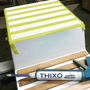 Thixo 2:1 Epoxy Adhesive System in use -05