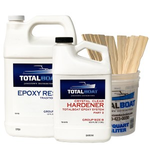 TotalBoat Crystal Clear Epoxy Gallon Kit