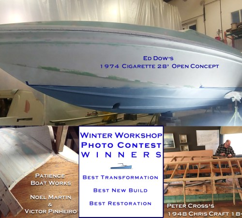 winter boat project