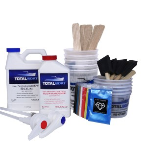TotalBoat Epoxy River Table Quart Kit