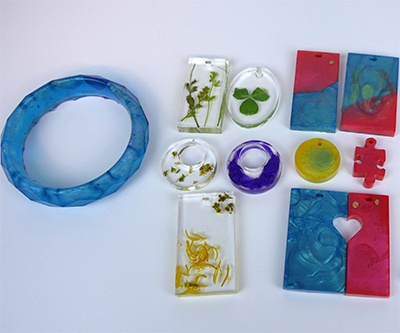 TotalBoat Jewelry Kit - Finished Pieces