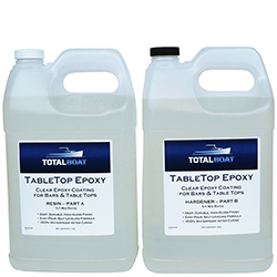 TotalBoat TableTop Epoxy Kit 1:1 Mix Ratio