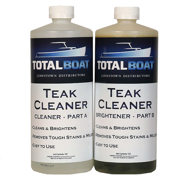 2-Part Teak Cleaner and Brightening System