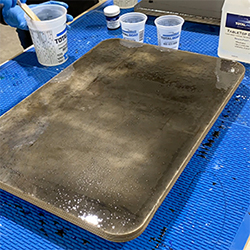 TotalBoat Epoxy Black Marble Kit Step 5 - Apply a Seal Coat