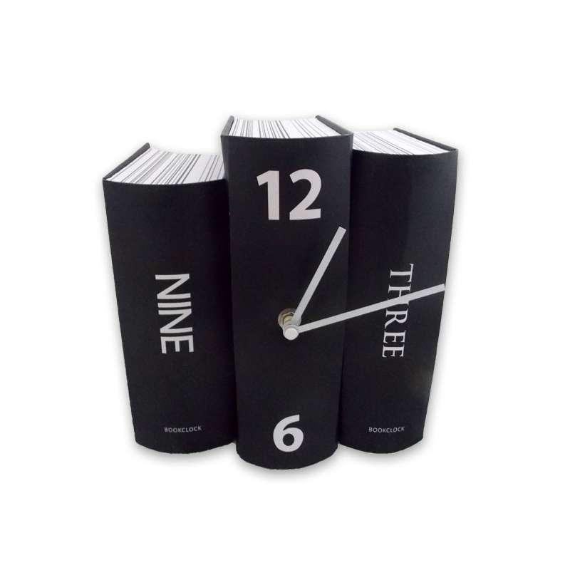 Horloge 3 Livres Dcorative Et Originale Chiffres Relief