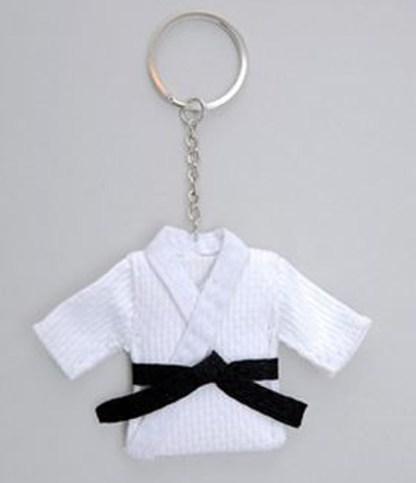 Judo suit key ring