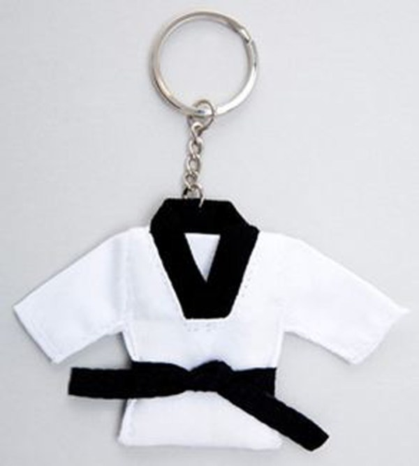Taekwondo Suit Key Ring