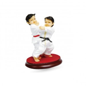 Judo Figurines