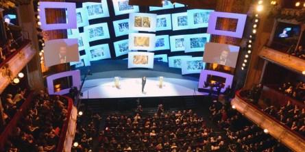 Scéna udílení Césarů za rok 2013 © Starface
