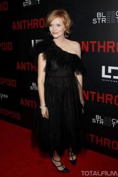 Aňa Geislerová na premiéře Anthropoidu v New Yorku (2016)