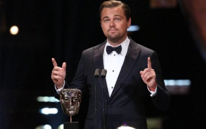 Leonardo DiCaprio při děkovné řeči