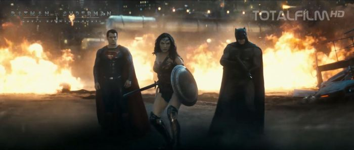 Superman, Wonder Woman a Batman