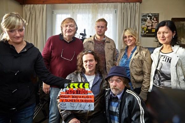 Bony a klid 2 (foto: NOGUP agency) Režisér Vít Olmer s herci a tvůrci