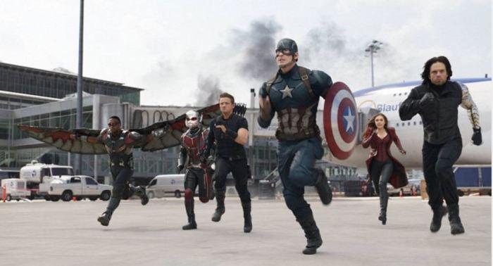 Captain America: Občanská válka (foto: Falcon)