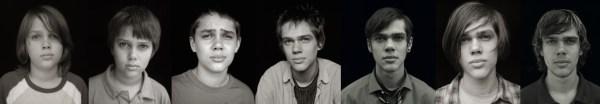 Proměna hlavní postavy Masona v průbehu 12 let (Ellar Coltrane))