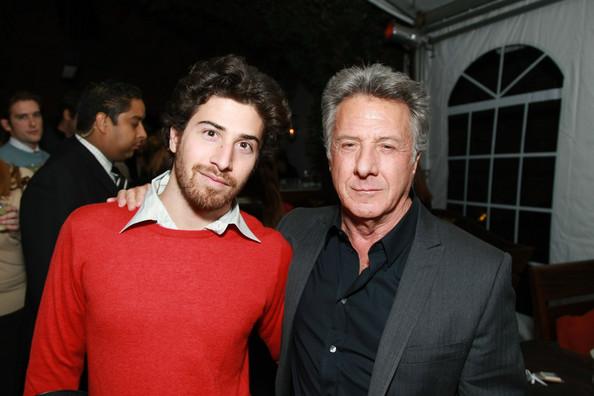 Jake Hoffman s otcem Dustinem