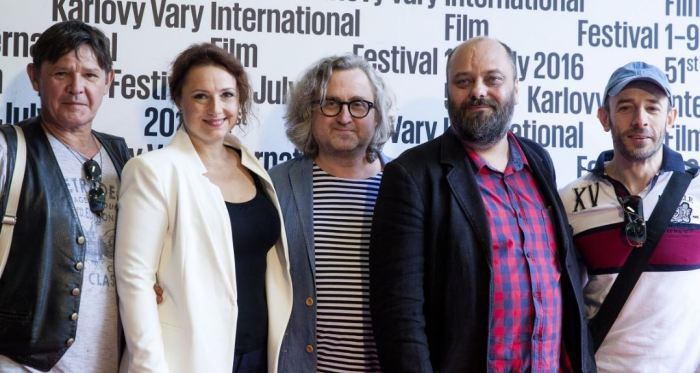 Delegace k filmu Učitelka na 51. MFF Karlovy Vary