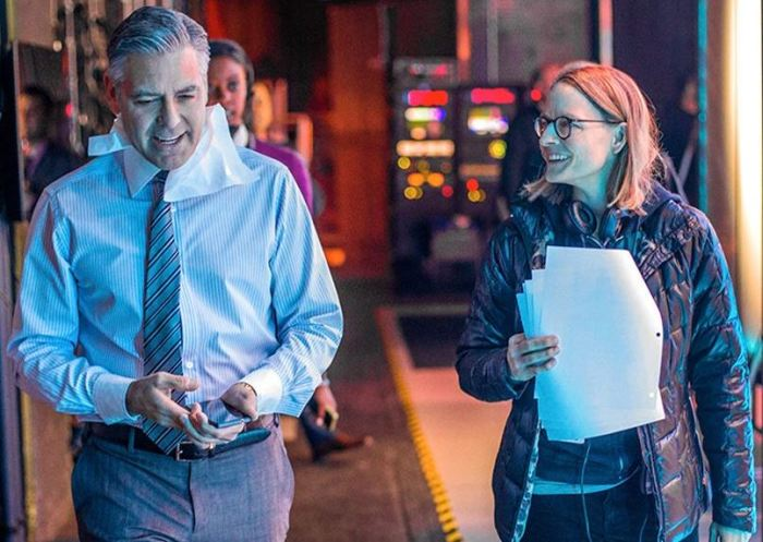 George Clooney a Jodie Foster na place