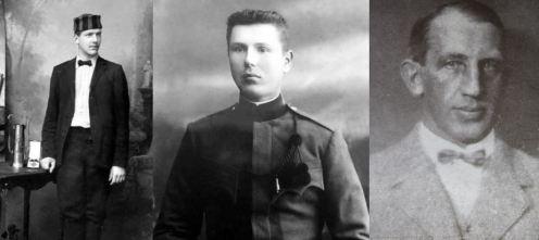 Bohumil Hanč, Václav Vrbata a Emerich Rath