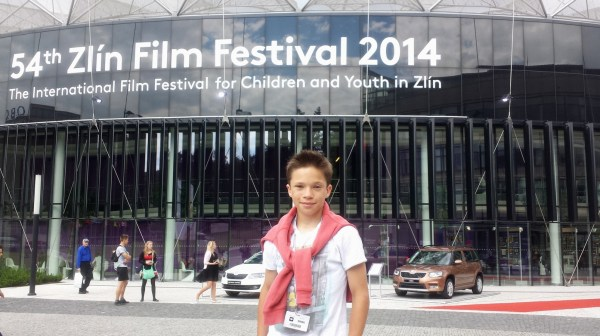 Jan Maršál na festivalu Zlín (foto: totalfilm.cz)