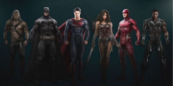 Justice League (concept art)