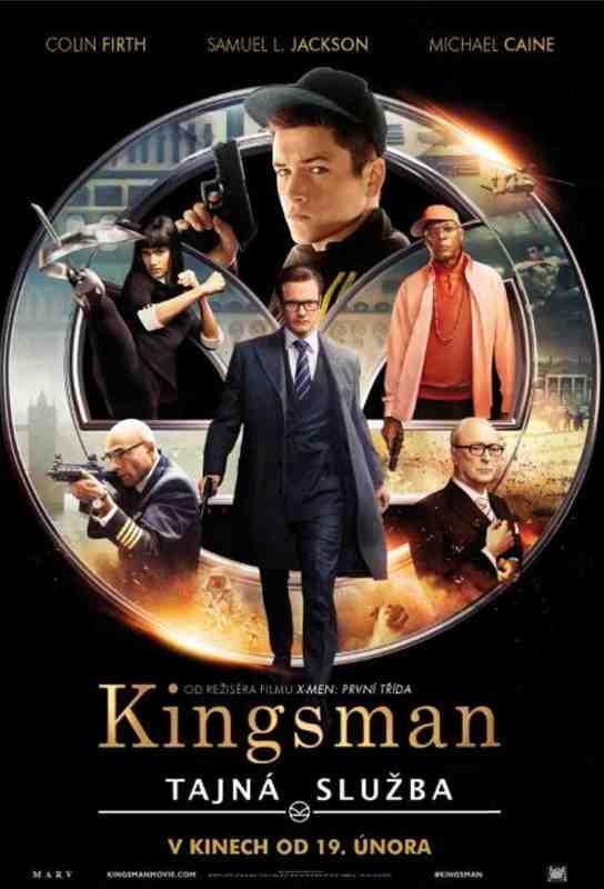 Kingsman Tajna služba poster