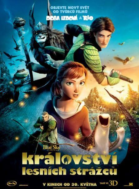 Království lesních strážců plakát