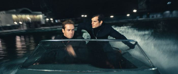 Armie Hammer a Henry Cavill ve filmu Krycí jméno U.N.C.L.E.