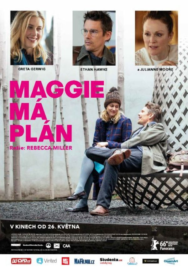 Maggie ma plan-poster