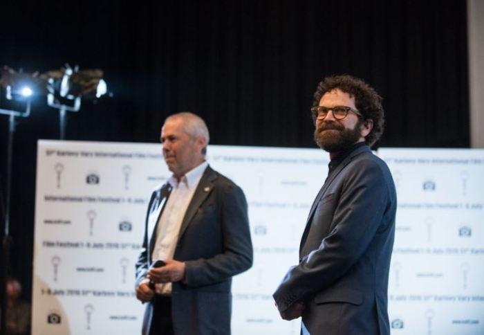 Marek Eben a Charlie Kaufman