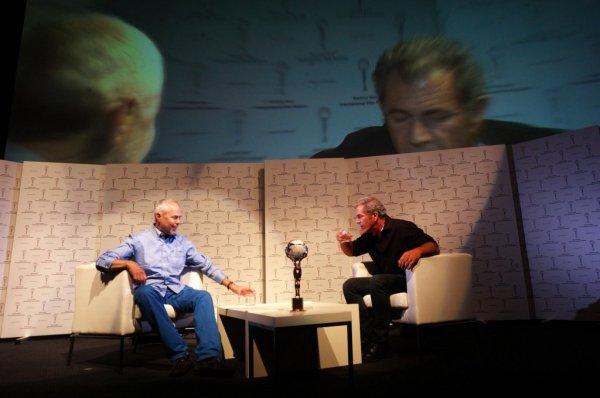 Na plovárně s Melem Gibsonem (foto: KVIFF)