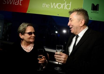 Agnieszka Hollandová s Ferem Feničem