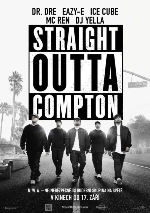 Straight Outta Compton-poster