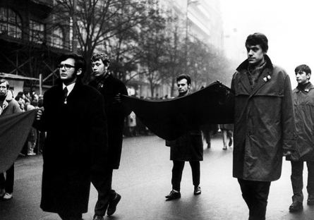 Tryzna za Jana Palacha - 20. leden 1969 (foto: Dagmar Hochová)