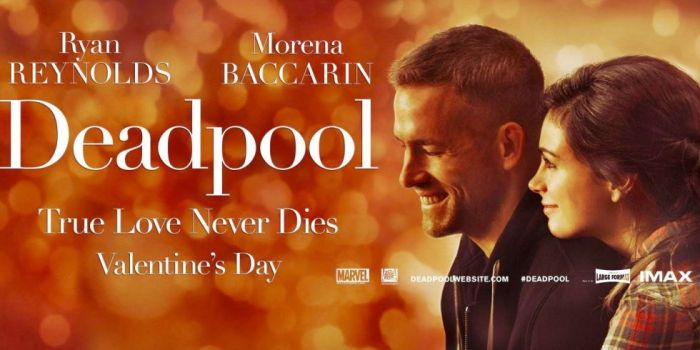 Deadpool - romantický billboard