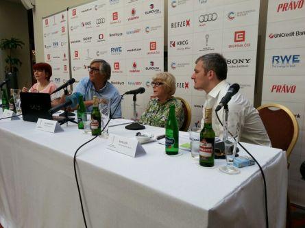 Tisková konference KVIFF (foto: totalfilm.cz - J.V.)