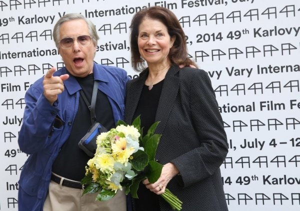 William Friedkin s manželkou Sherry Lansing (foto: KVIFF)